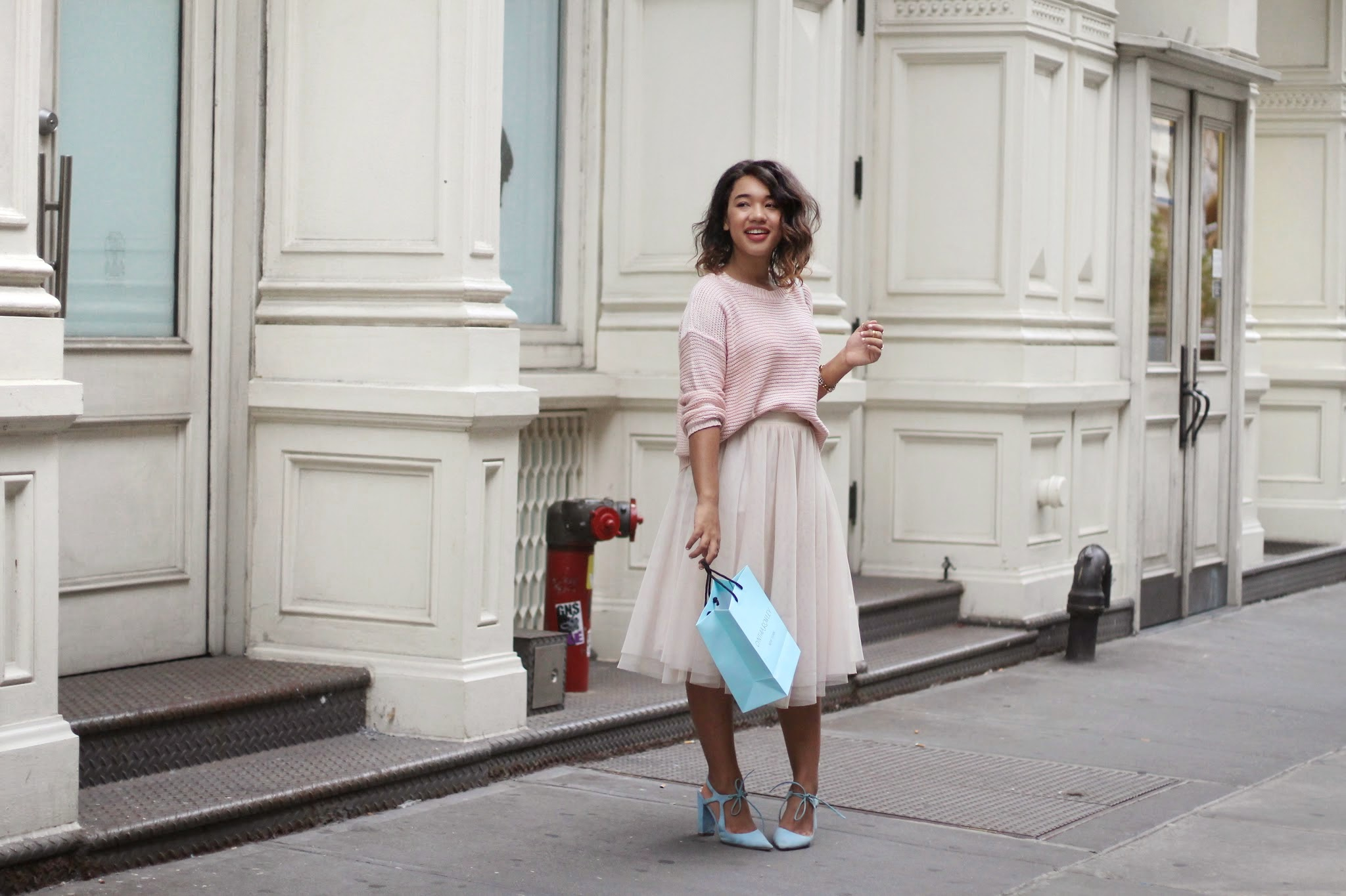New York Fashion Blogger Nyc fashion blogger new york style blogger blush crush tulle blush