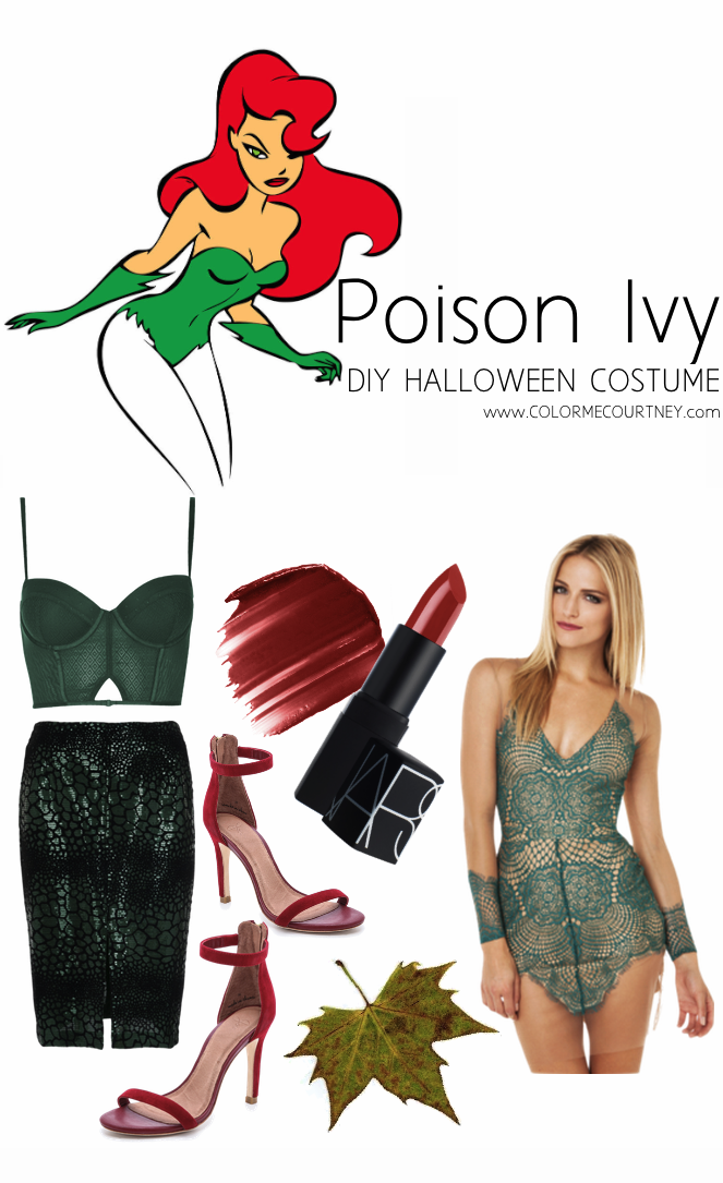 DIY POISON IVY HALLOWEEN COSTUME POISON IVY HALLOWEEN COSTUME POISON IVY COSTUME BATMAN  DIY HALLOWEEN COSTUME DO IT YOURSELF HALLOWEEN COSTUME DIY HALLOWEEN COSTUME IDEAS