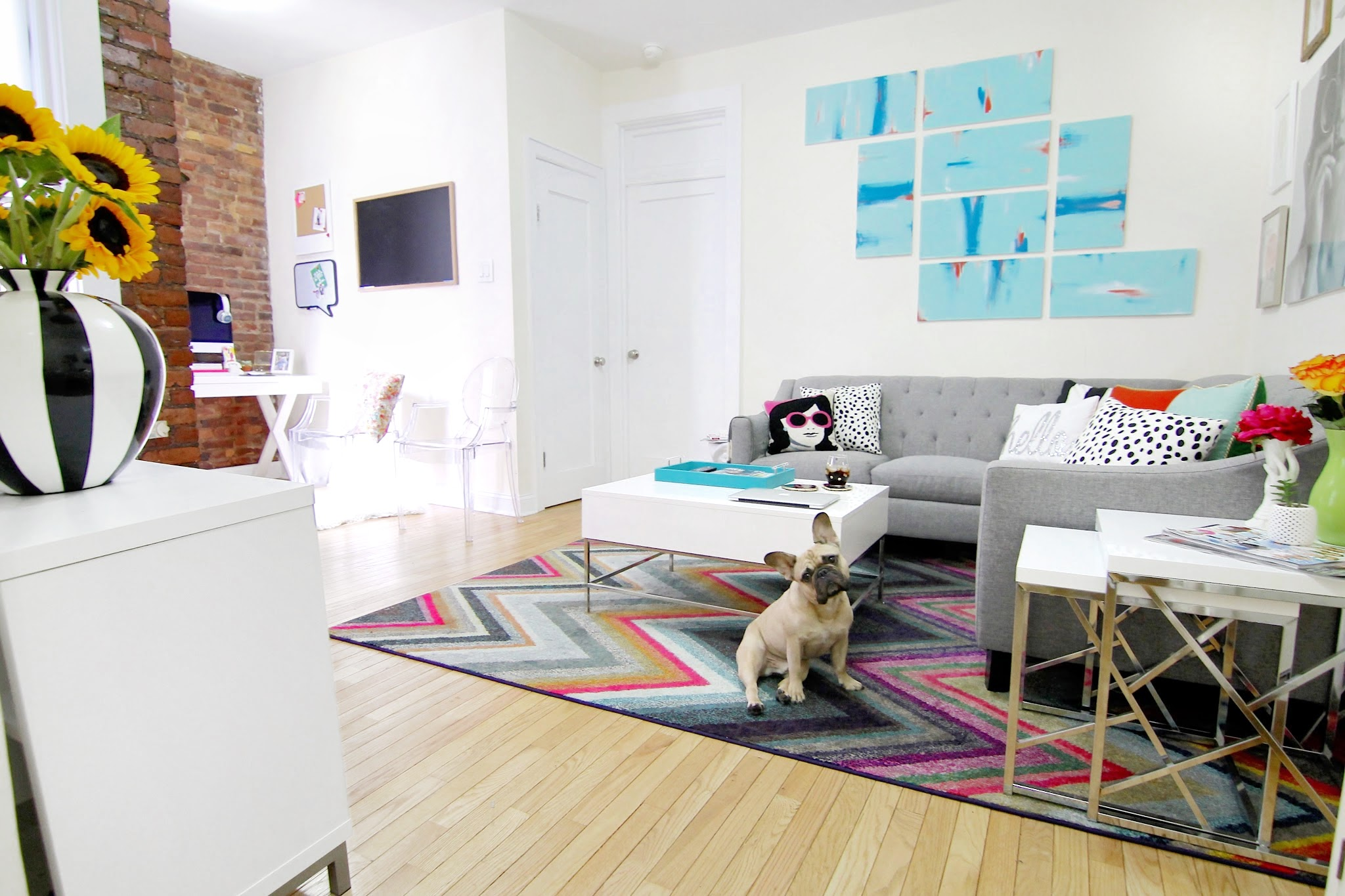 Color Me Courtney - APT TOUR – Living Colorfully in the West Village